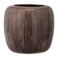 Bloomingville Stoneware Flowerpot Brown