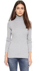 525 America Ribbed Turtleneck Sweater Grey