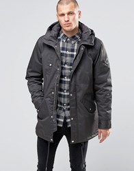Fat Moose Outskirts Parka Quilted Lining Anthracite Grey