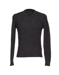 Alpha Studio Sweaters Steel Grey