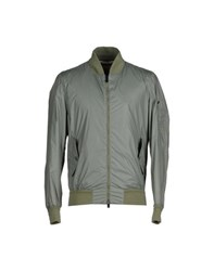 Siviglia Denim Coats And Jackets Jackets Men Military Green