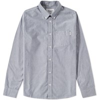Carhartt Button Down Pocket Shirt Blue