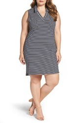 Leota Plus Size Women's Stripe Stretch Knit Sheath