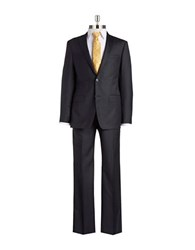 Michael Kors Two Piece Wool Suit Dark Grey