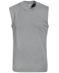 Champion Men's Jersey Muscle Tank Oxford Gray
