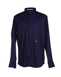 Hydrogen Shirts Shirts Men Dark Blue