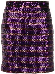 Aniye By Sequin Embroidered High Waisted Skirt 60