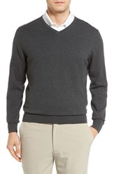 Cutter And Buck Men's Lakemont V Neck Sweater