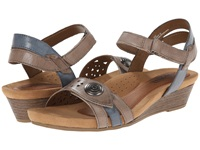 Cobb Hill Halle Taupe Women's Wedge Shoes