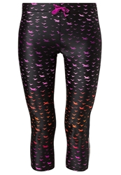 Roxy Relay Tights Ombre Birds Black