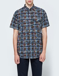 Engineered Garments Popover Floral Printed Madras Multi