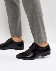 New Look Derby Shoes In Black Black
