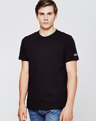 Champion Reverse Weave Crew Neck T Shirt Black