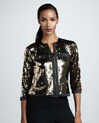 Michael Simon Sequined Jacket X Large 14 16