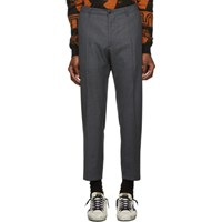 Tiger Of Sweden Jeans Grey Wool East Trousers