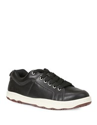 Simple Osneaker L Leather Fashion Sneakers Black