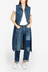 Citizens Of Humanity Women S Cora Patchwork Jeans Boutique1 Blue