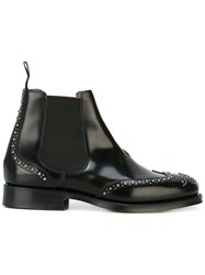 Church's Studded Ankle Boots Men Calf Leather Leather 9 Black
