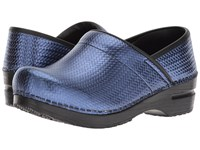 Sanita Signature Professional Cairo Blue Clog Shoes