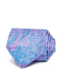 Bloomingdale's The Men's Store At Paisley Classic Tie Light Blue