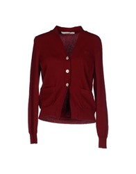 Aquilano Rimondi Knitwear Cardigans Women Brick Red