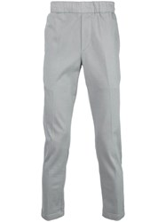 J Brand Elasticated Waist Trousers Grey