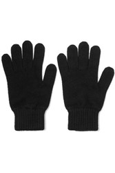 Johnstons Of Elgin Cashmere Gloves Black