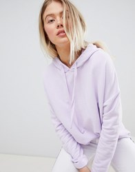 Pull And Bear Pullandbear Hoodie In Lilac Purple