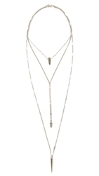 Lacey Ryan Zero Tolerance Necklace Silver