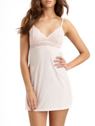 Cosabella Dolce Babydoll Blush White Ice Pink Black
