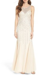 Sean Collection Women's Embellished Mesh Mermaid Gown