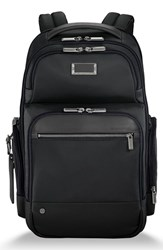Briggs And Riley Work Large Cargo Backpack Black