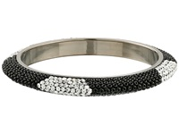 Gypsy Soule Bling Mix Stack Bangle Wide Black Bracelet