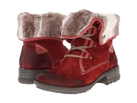 Josef Seibel Sandra 04 Carmin Women's Lace Up Boots Red