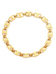 Tory Burch Gemini Link Necklace Gold