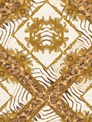 Versace Vasmara Printed Wallpaper Multicolor
