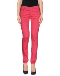 Cafe'noir Cafenoir Trousers Casual Trousers Women Fuchsia