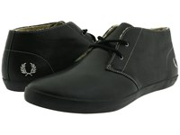 Fred Perry Byron Mid Leather Black Men's Lace Up Boots