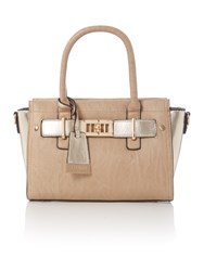 Juno Taupe Tote Cross Body Bag Taupe