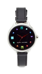 Marc Jacobs Betty Extensions Watch Silver Multi Black