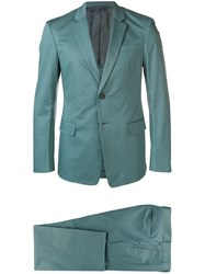 Prada Stretch Two Piece Suit Green