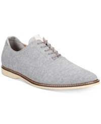 Bar Iii Men's Dylan Lace Up Oxfords Created For Macy's Men's Shoes Charcoal