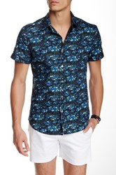 Parke And Ronen Elation Short Sleeve Slim Fit Shirt Multi