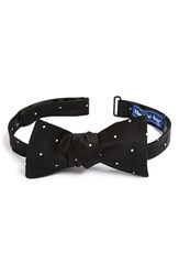 The Tie Bar Men's Silk Dot Bow