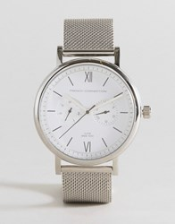French Connection Watch Silver