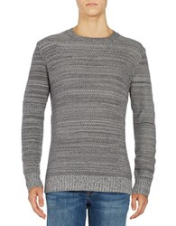 Strellson Marled Crewneck Sweater Grey