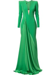 Alex Perry Lindy Dress Green