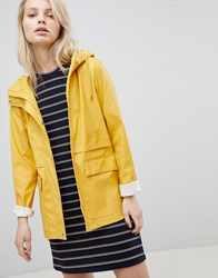Only Hooded Raincoat Yellow