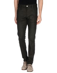 Chiribiri Trousers Casual Trousers Men Dark Green