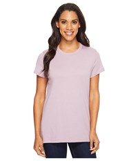Carhartt Lockhart Short Sleeve Crewneck T Shirt Amethyst Heather Women's T Shirt Purple